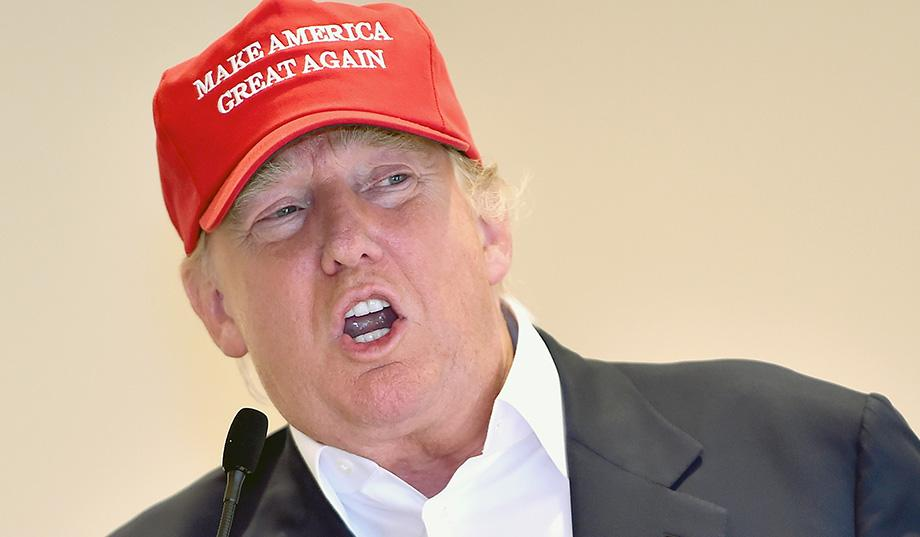 The Trump Mullet  business from the neck down afd74adb2e74