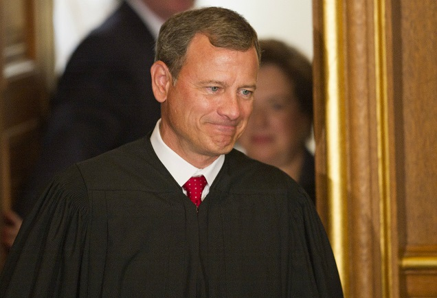 Chief Justice Roberts Is SHOCKED, SHOCKED To Find Vulgar Partisanship In Mitch McConnell's Senate