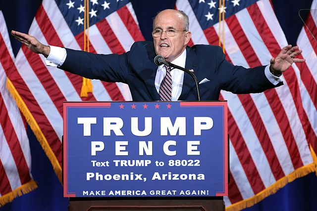 Rudy Giuliani Prepares For One Million Legal Cases By Firing His Lawyer