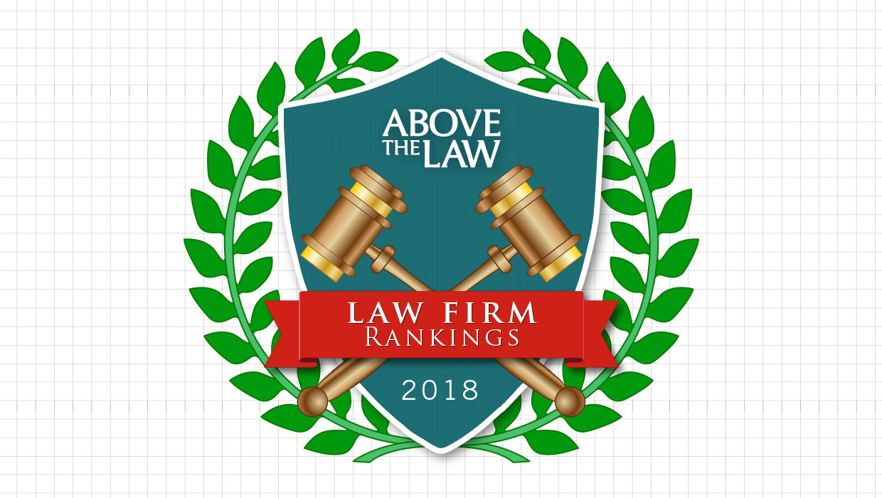 2018 Power 100 Law Firm Rankings | Law Firm Rankings | Above
