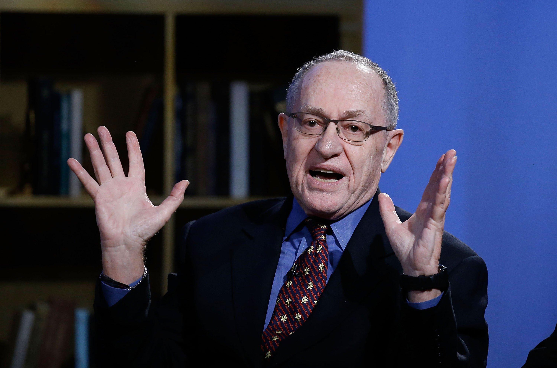 Wait, What Wild Theory Is Alan Dershowitz Peddling Now?