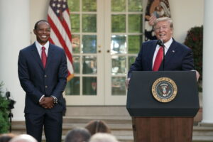 Donald Trump Blows As Much Taxpayer Money On Golf As Richest Pro Golfer Tiger Woods Earns Golfing