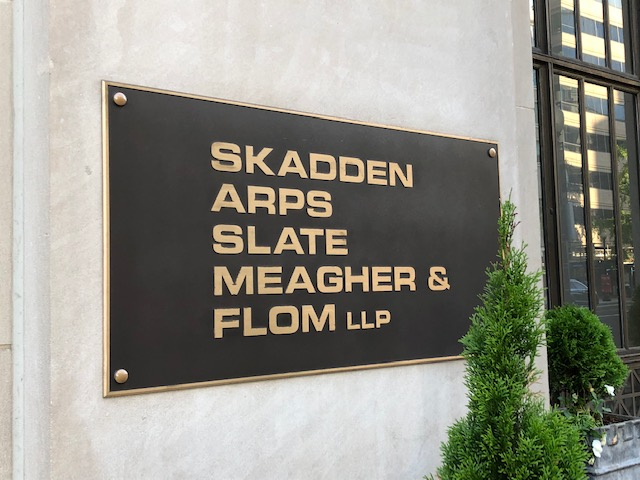 New Lawsuit Takes Aim At Skadden Billing Practices