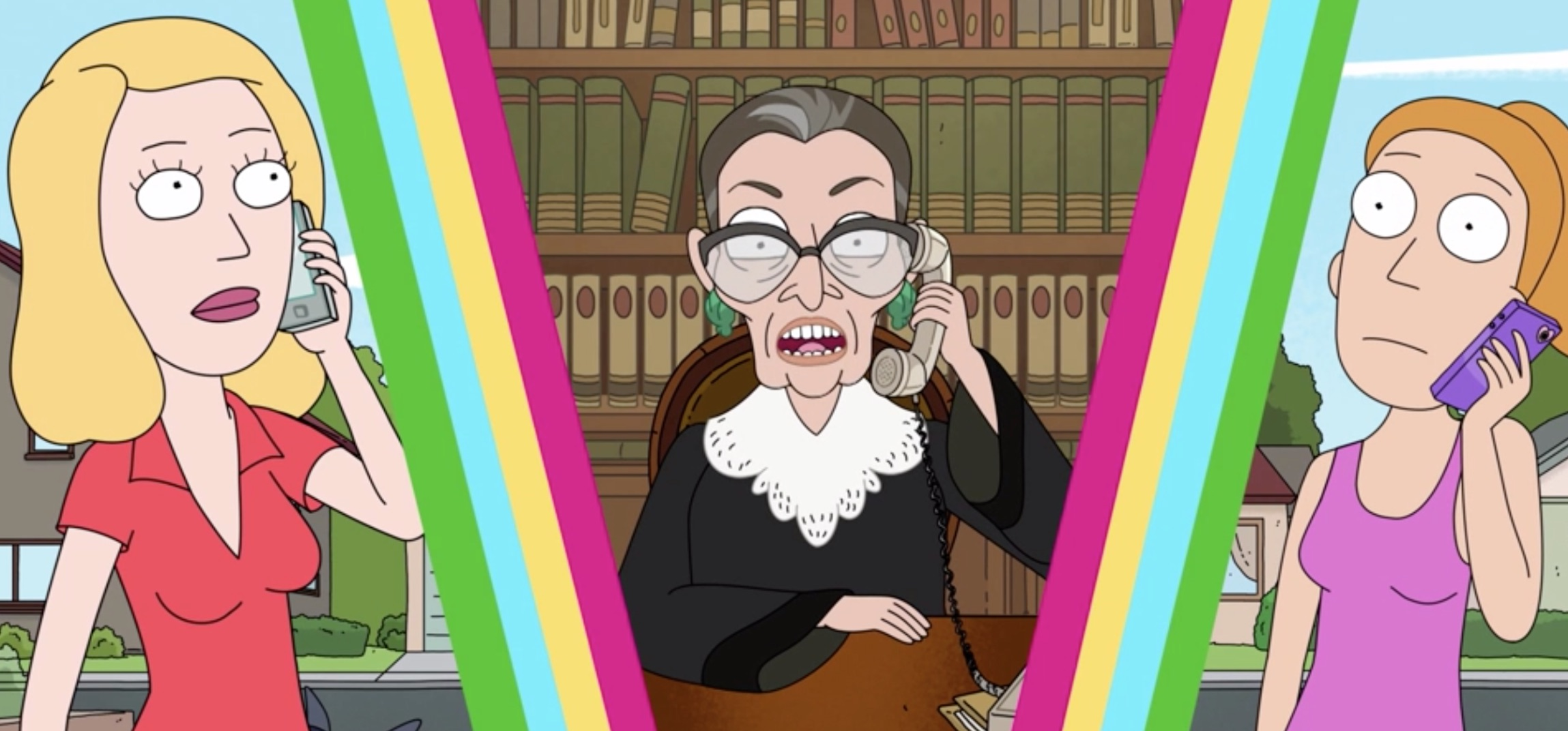 Rick And Morty Keep Highlighting Supreme Court Justices