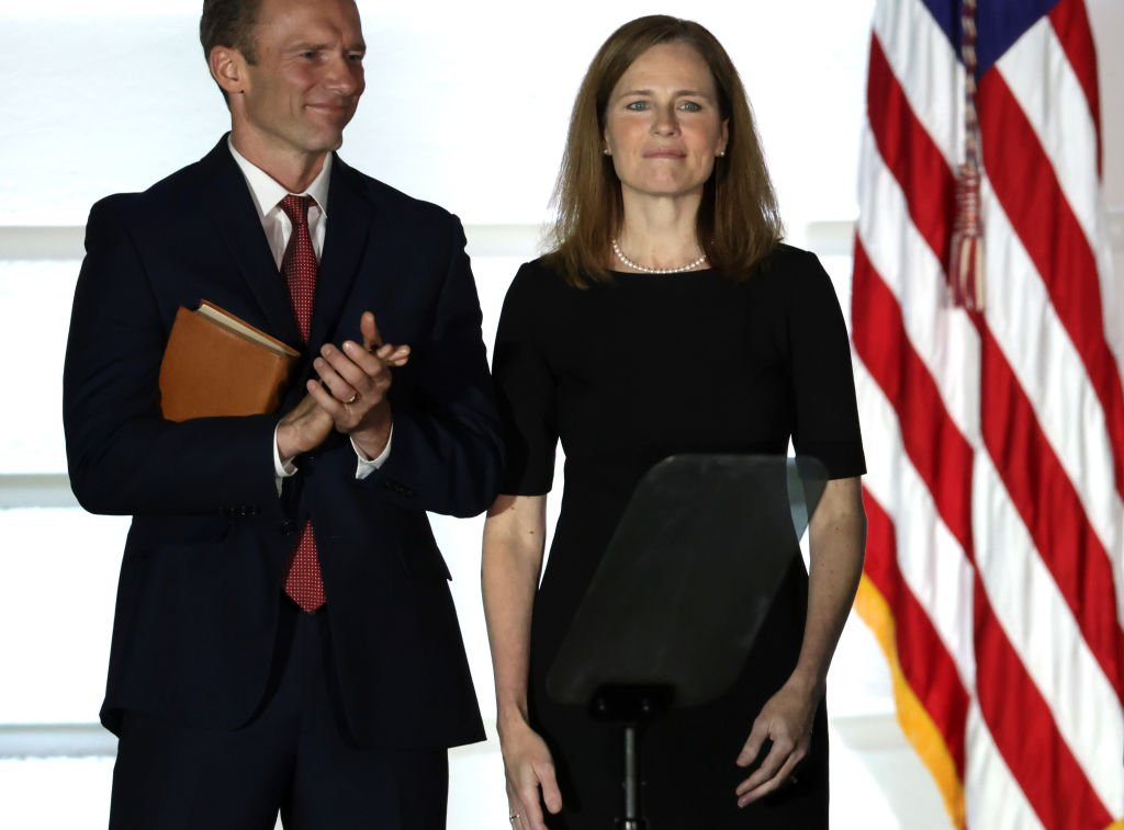 Amy Coney Barrett's Husband To Continue At Private Practice Firm Despite Ethics Concerns