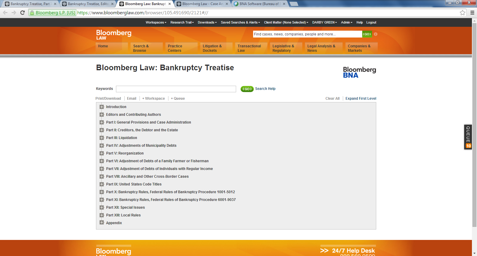 bankruptcy research papers