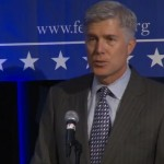 Judge Neil Gorsuch at the Federalist Society's 2013 National Lawyers Convention