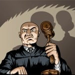 scary angry judge