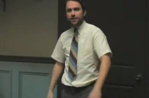 Charlie Kelly lawyer talk