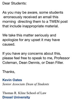 Help! I accidentally sent a pornographic video to my professor! What should I do?