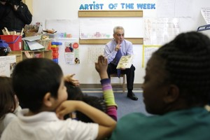 Rahm Emanuel with Children