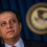 Preet Bharara (Photo by Andrew Burton/Getty Images)