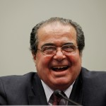 Laugh it up, Scalia! (Photo by Chip Somodevilla/Getty)