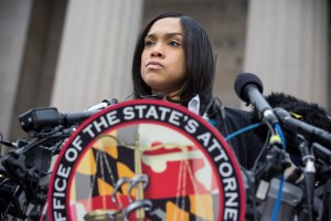 Marilyn J. Mosby (Photo by Andrew Burton/Getty)