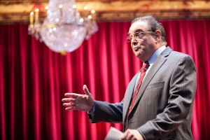 Edward Gero as Justice Antonin Scalia in The Originalist at Arena Stage (photo by C. Stanley Photography)