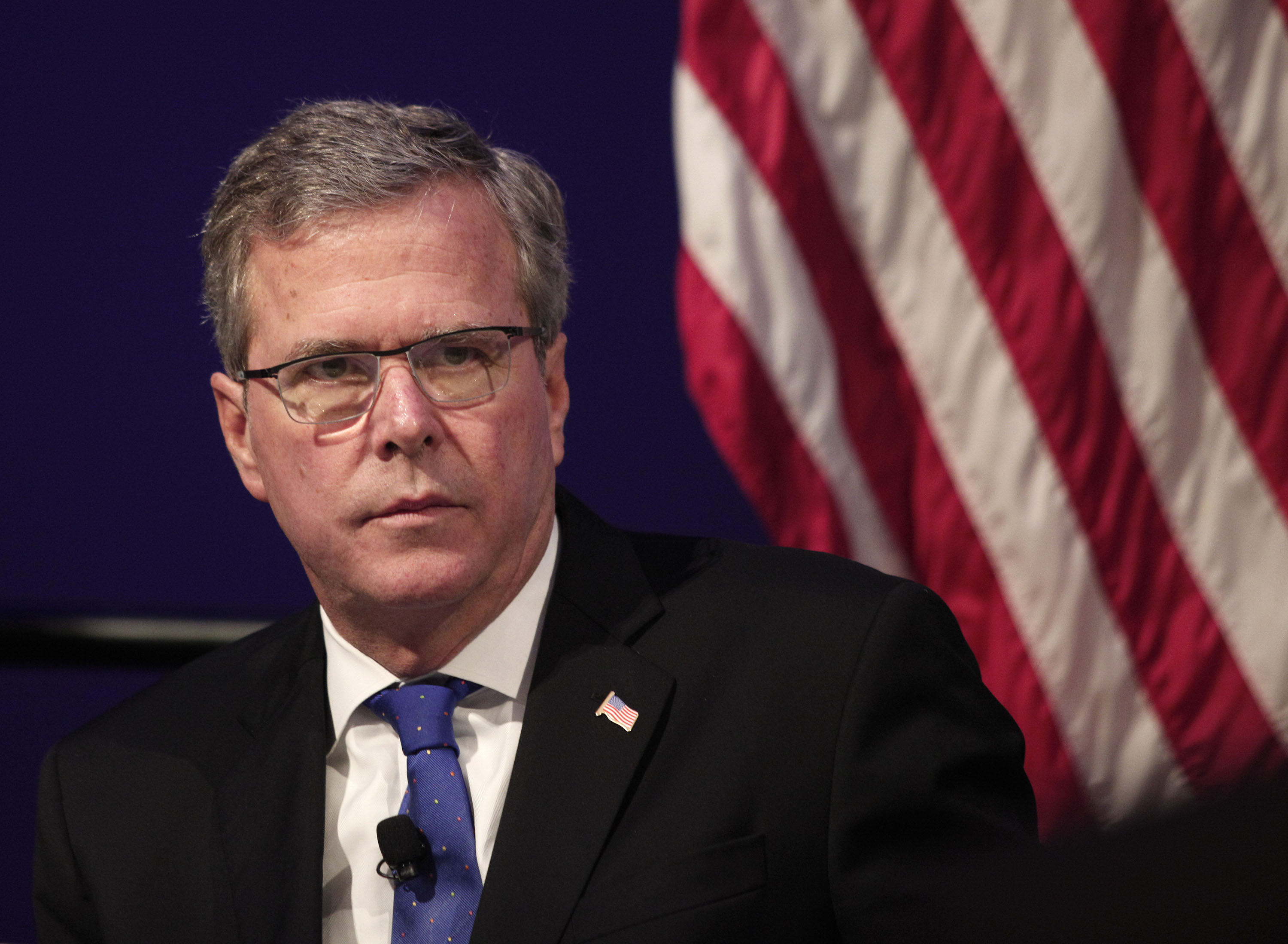 Jeb Bush  (Photo by Bill Pugliano/Getty Images)