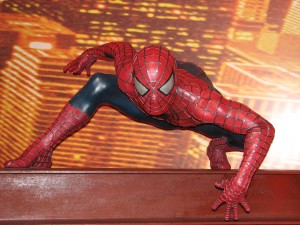 Spiderman horizontal