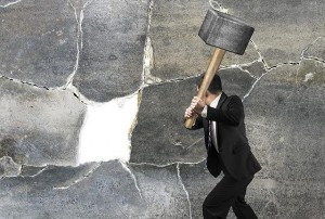 lawyer hammer wall