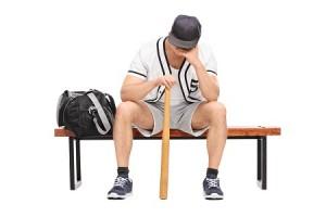 baseball sad
