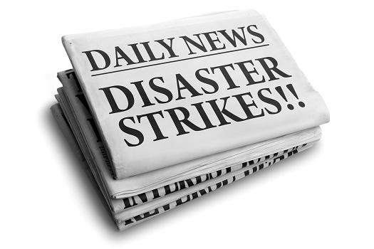 disaster strikes