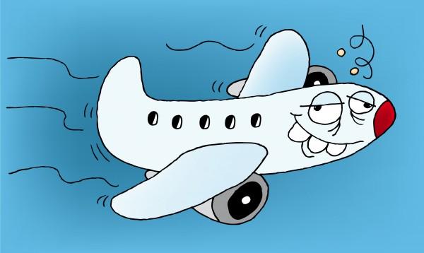 drunk plane
