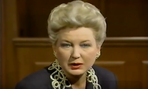 Judge Maryanne Trump Barry (in 1992).