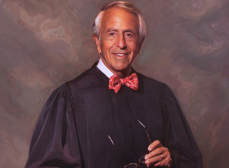 Judge Charles Breyer official portrait via Scott Johnston