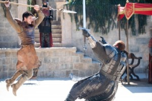 Just when you thought practicing law was boring -- trial by combat!