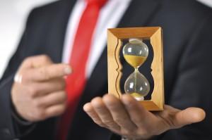 lawyer hourglass