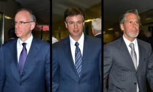 Steven Davis, Joel Sanders, and Stephen DiCarmine