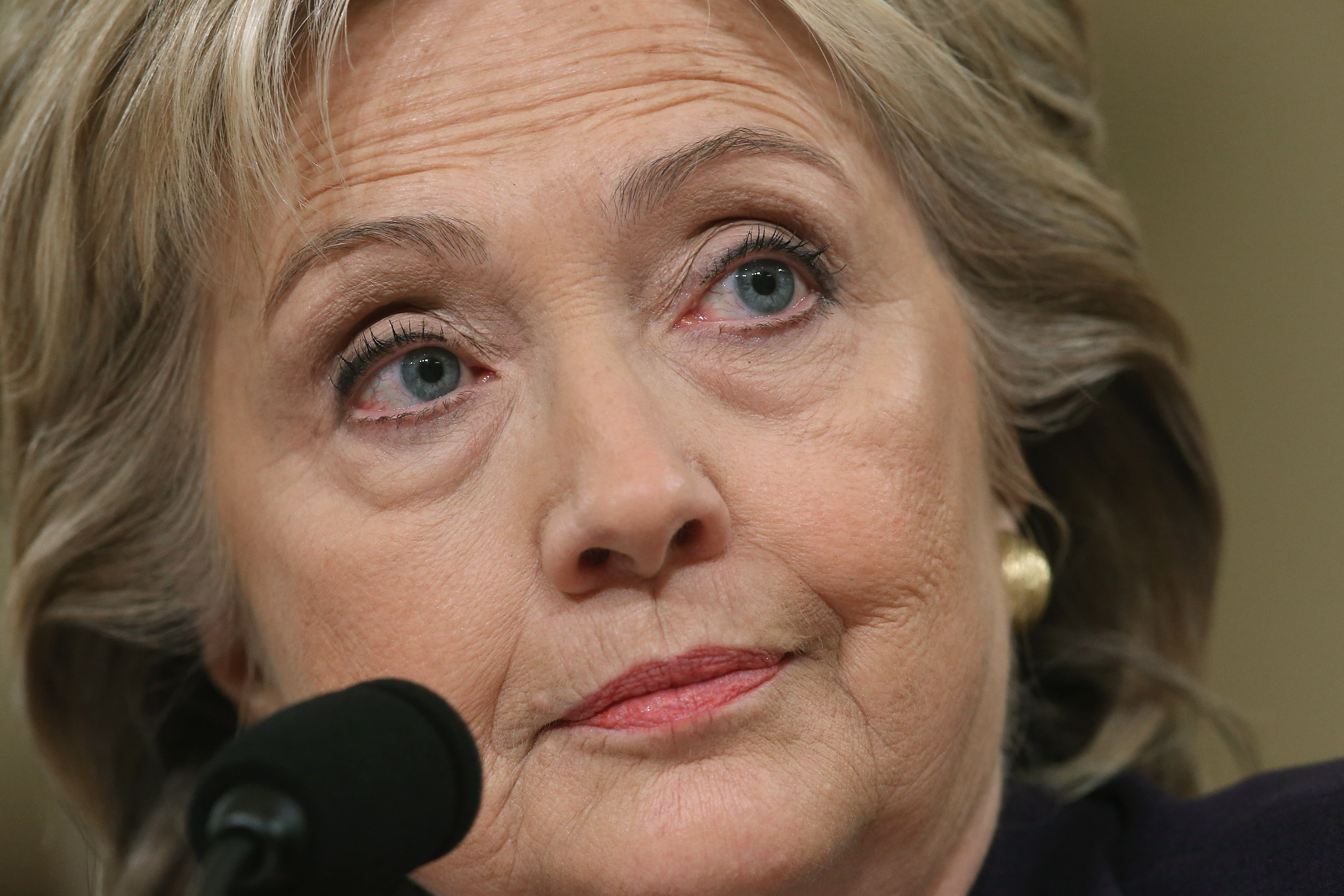 You Don T Need To Be Here Hillary Clinton S First