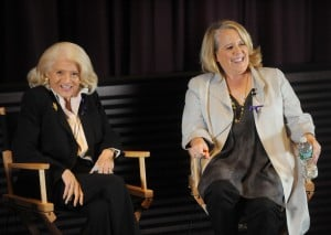 Edie Windsor and Roberta Kaplan (Photo by Brad Barket/Getty)