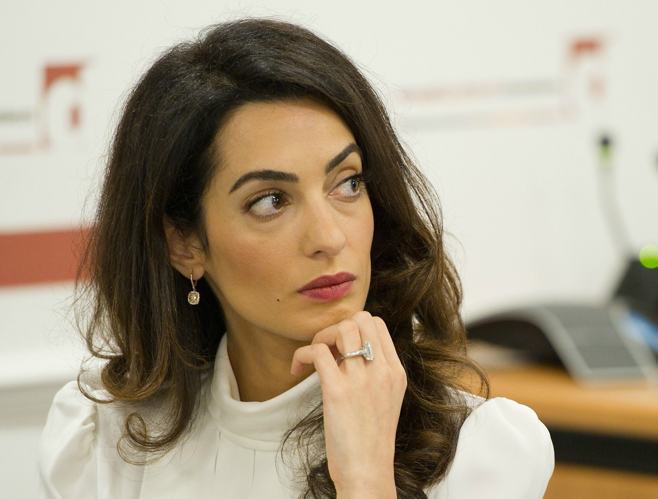 Oh Law Firm >> Is Amal Clooney Throwing Shade At Her Husband And His Pals? | Above the Law
