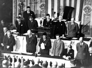 Opening prayer, 80th Congress 1947.