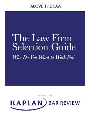 Law firm selection guide