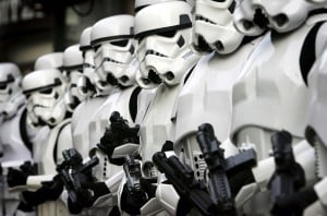 Don't blame the Storm Troopers (Photo by Chris Jackson/Getty Images)