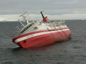 The ship be sinking (photo by Reinhard Jahn via Wikimedia)