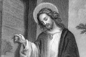 Jesus_Christ_(German_steel_engraving)_detail
