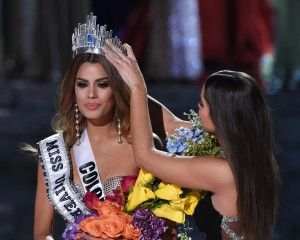 Sorry, Miss Colombia... (Photo by Ethan Miller/Getty Images)