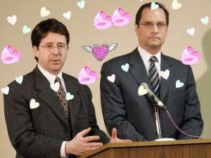 Dean Strang and Jerry Buting (Photo via Tumblr)