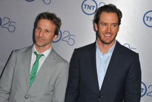 Breckin Meyer and Mark-Paul Gosselaar (Photo by Angela Weiss/Getty Images)