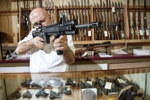 Gun Store man