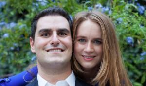 Joe Borstein and Magdalen Reeder (photo by Josh Klausner)