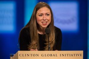 Chelsea Clinton (Photo by Andrew Burton/Getty)