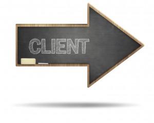 client clients arrow