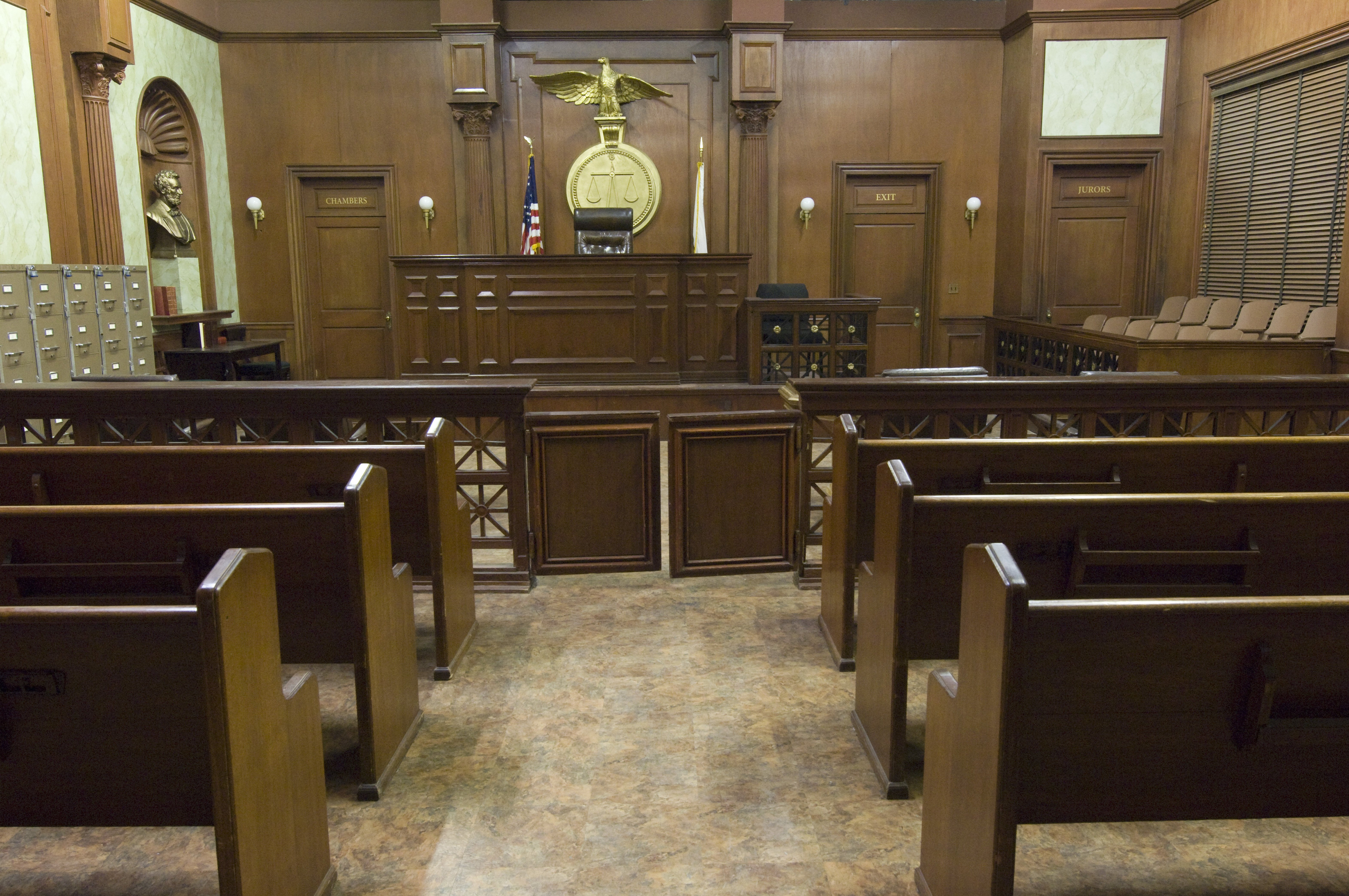when the drama of the courtroom is played for laughs above the law