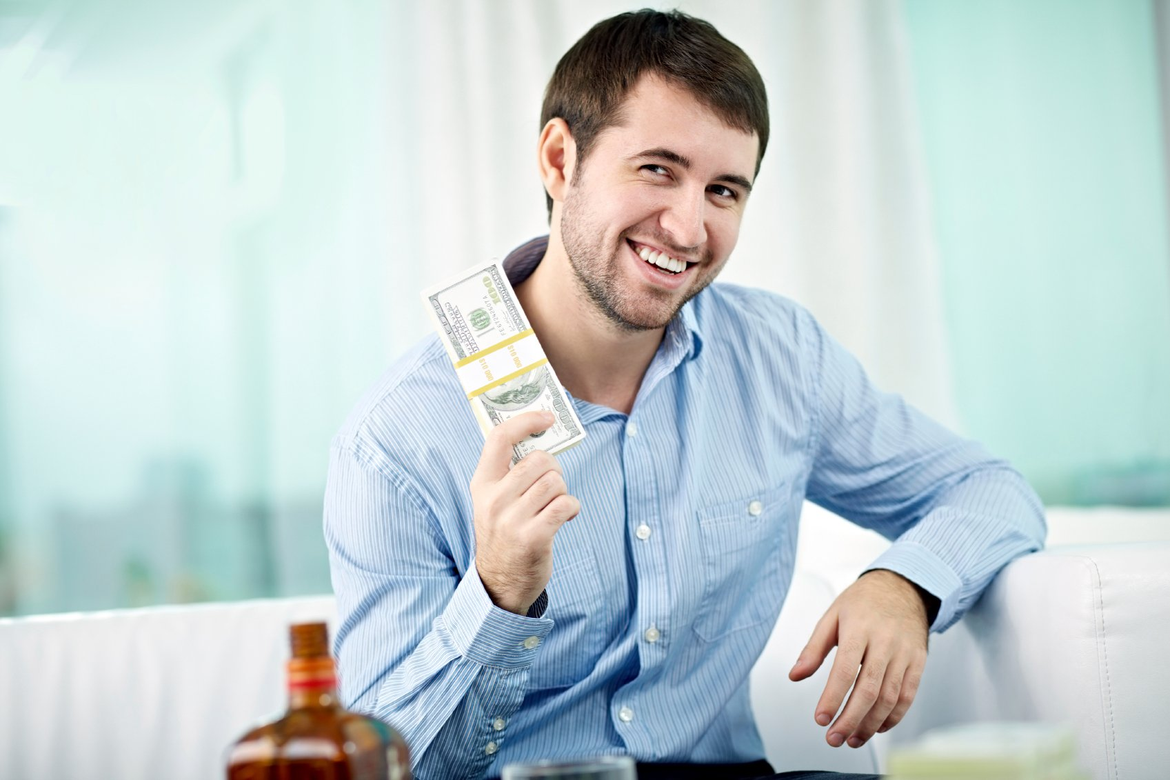Stock photo, but he kinda looks like an Orrick associate, doesn't he?