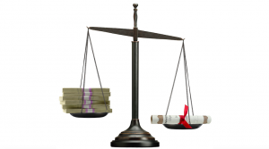 scales money vs diploma law degree law school