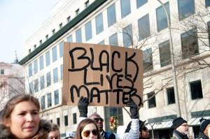 BlackLivesMatter sign