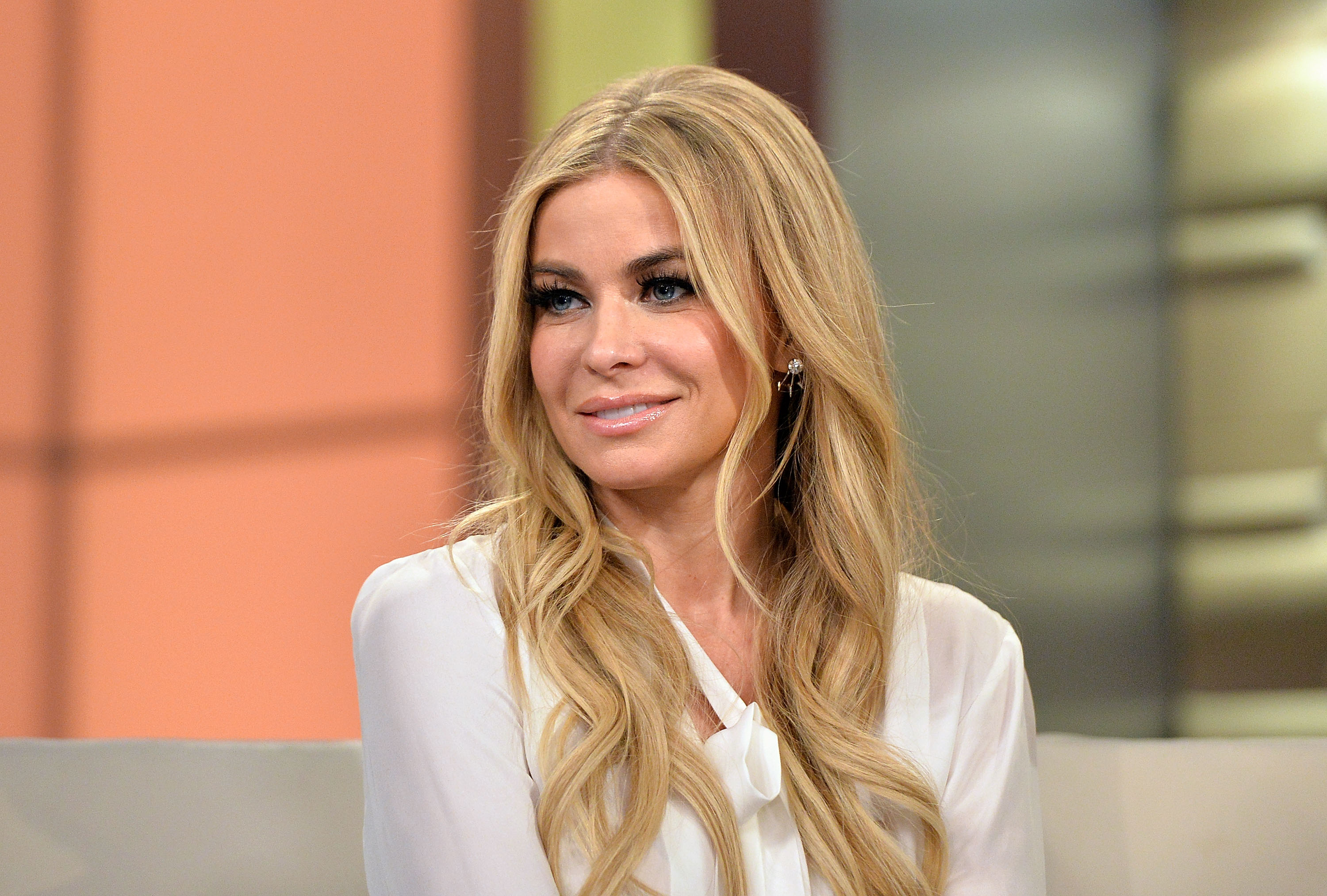 "NEW YORK, NY - JANUARY 08:  (EXCLUSIVE COVERAGE) Actress Carmen Electra visits ""Fox & Friends"" at FOX Studios on January 8, 2016 in New York City.  (Photo by Slaven Vlasic/Getty Images)"